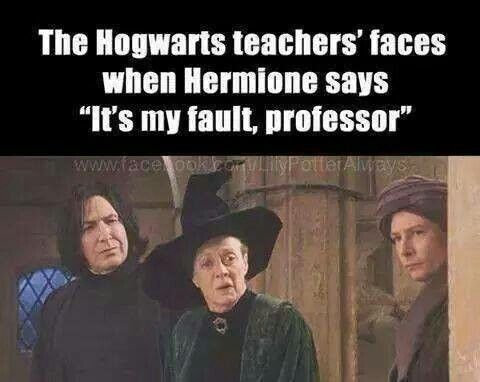 Snape : no you're lying McGonagall : literally having a heart attack Quirell : about to burst into tears. Harry potter