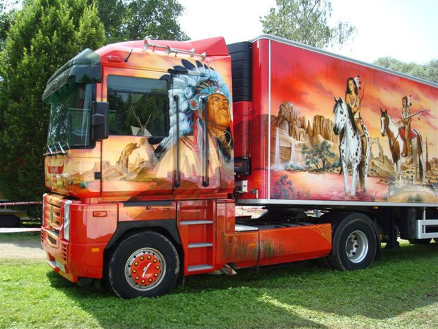 Les 25 meilleures id es de la cat gorie camions semi sur - Camion benne americain ...