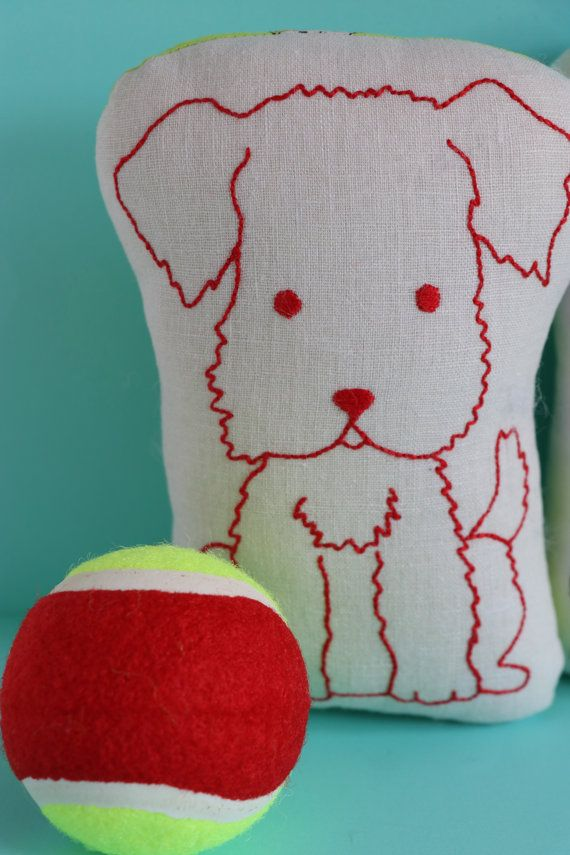 "Great Scott : Scottie embroidery, Scottie dog softie, Scottie dog plush, dog sewing pattern, dog embroidery, easy sewing pattern, toy dog  Great Scott is a sweet and simple little embroidery that you can use to decorate a whole range of things. The pattern shows you how to turn your embroidery into a simple softie with a child safe bell inside . You could use the embroidery design for a whole range of items !  Each dog is approx 7 inches high.  To make one dog you will need  10"" square hanky…"