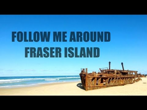 Follow my 3 day journey around Fraser Island