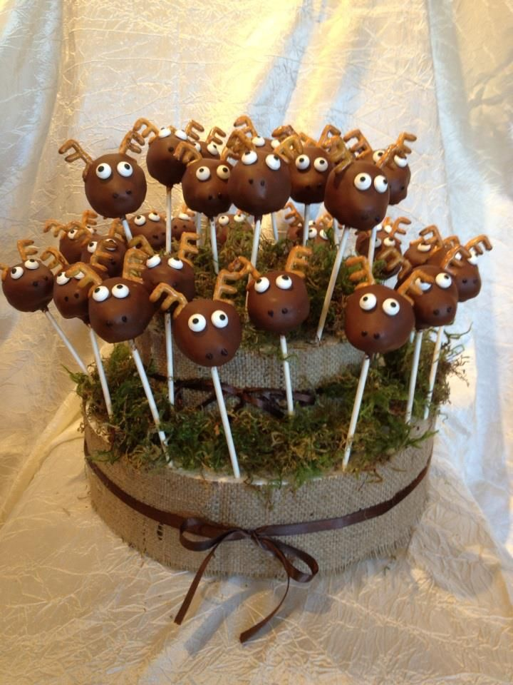 deer hunting themed centerpiece - Google Search                                                                                                                                                      More