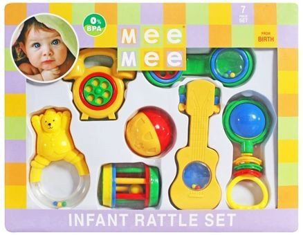 Mee Mee - Infant Rattle Set Buy Online at Best Price in