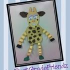 This Giraffe Glyph will definitely be a head turner hanging in your hallway! Your children will have a blast creating this Giraffe Glyph. We also h...