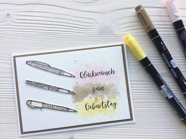 #papierformart - Colour Combo im Jänner mit dem Stempelset Kreiert mit Liebe von Stampin' Up!