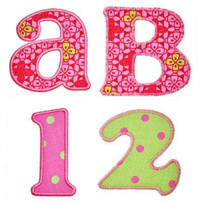 Alphabets :: Versatile Applique Alphabet - Embroidery Boutique