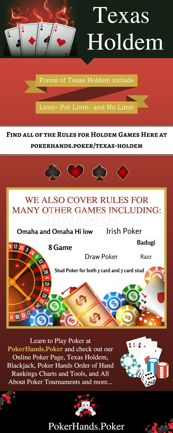 Texas Holdem Live and Online Poker