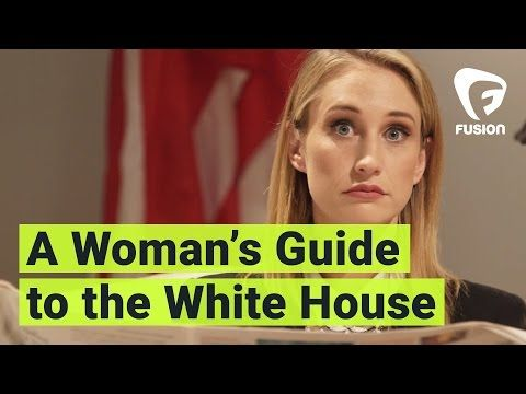 BEST thing I have seen all week. A Woman's Guide to the White House (with Maude Garrett) - YouTube