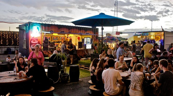 Head down to Eat Street Markets for cheap food, market stalls  entertainment... open every weekend!