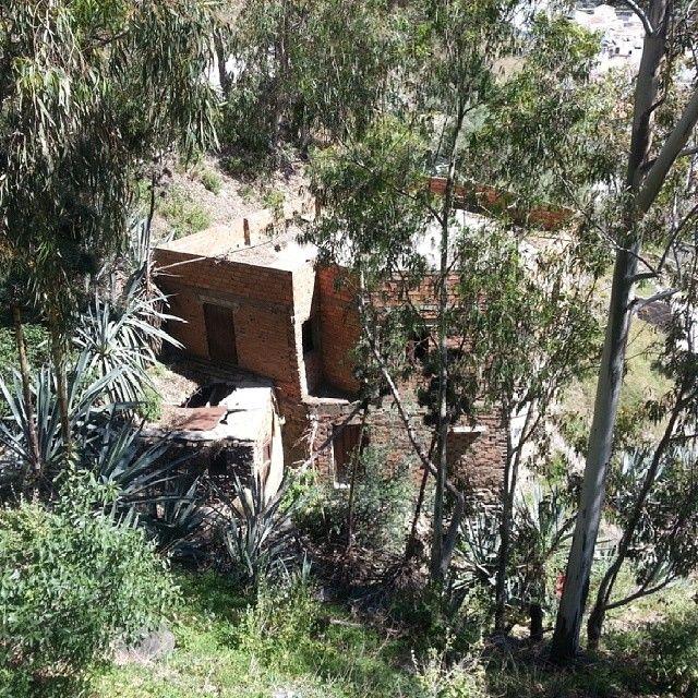 #abandonedplaces #urbanexploration #abandoned #torrox #spain #andalucia #gateway #castle #instaphoto #instamood