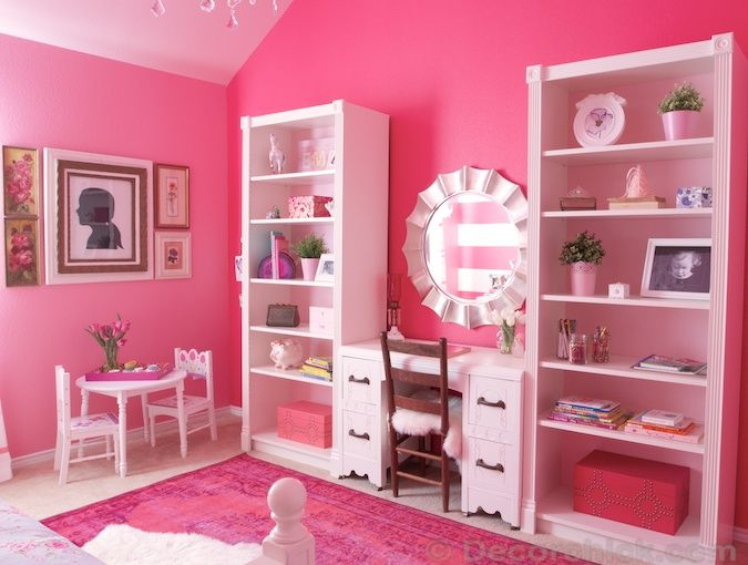 Best 25+ Pink Girl Rooms Ideas On Pinterest