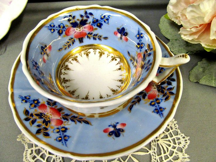 Antique English Porcelain Chamberlain's Worces…