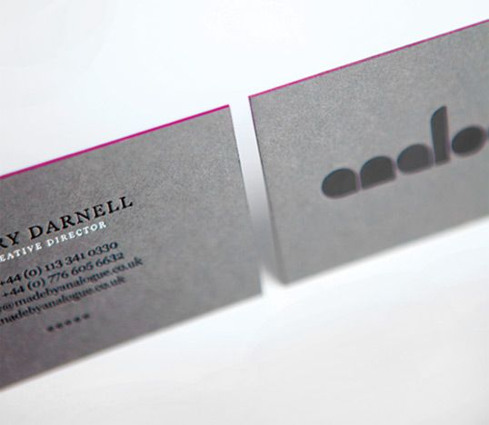 Analogue Business Cards / Analogue #cards #businesscards