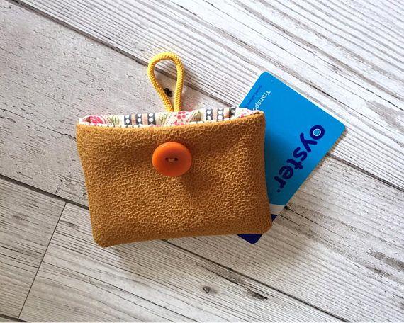 Travel card holder Credit card wallet Oyster holder Ticket