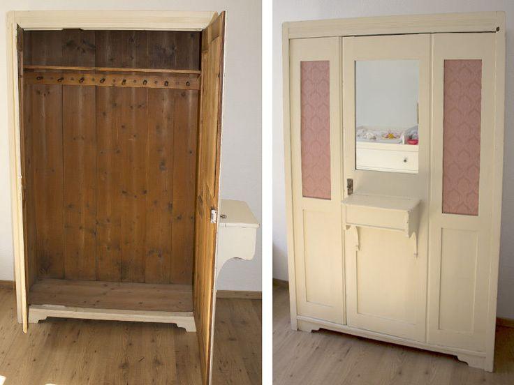 1000 ideas about kleiderschrank vintage on pinterest armoires offener kleiderschrank and. Black Bedroom Furniture Sets. Home Design Ideas
