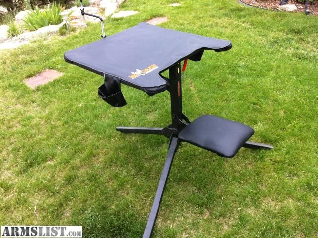 Shooting Benches For Sale Armslist For Sale Big Game 360 Degree Swivel Shooting Bench