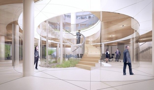 GowinSiuta architectural studio win CHANGING THE FACE - a competition for a complete overhaul of the 'Rotunda'-building in central Warsaw   FUTU.PL
