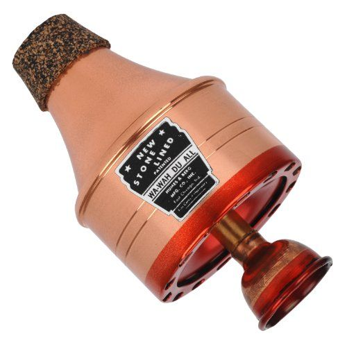 Humes & Berg 111C Stonelined Wa-Wah Copper Trumpet Mute - http://www.rekomande.com/humes-berg-111c-stonelined-wa-wah-copper-trumpet-mute/
