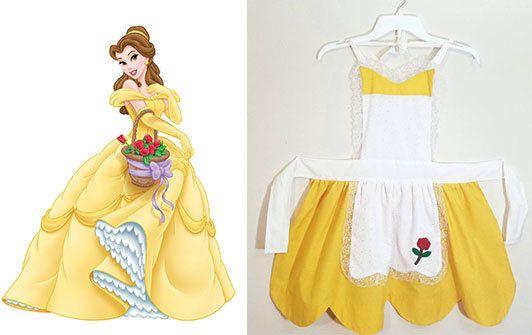 Disney Princess Beauty and The Beast Princess Belle Dress Up