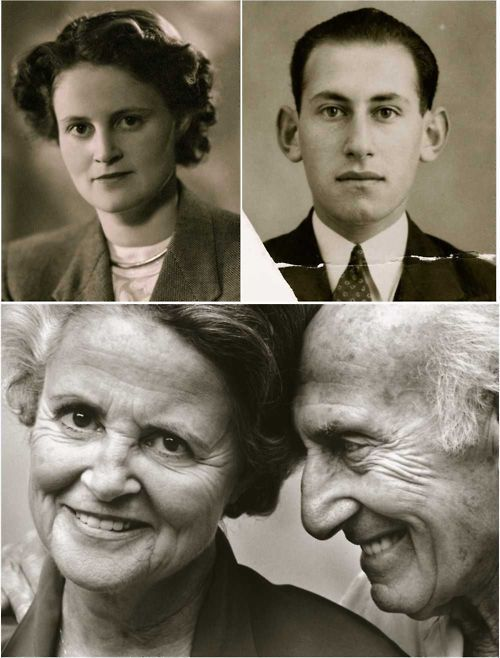 Jack & Ina Polak sparked a love affair while in the same concentration camp, exchanging love letters over the course of being held captive. They married after being liberated, and have stayed together over 60 years.