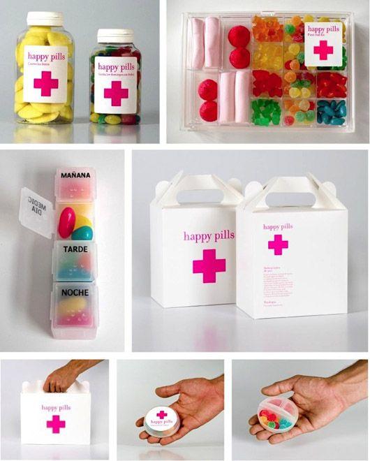 Felicidad, Salud y Marketing, un trío que funciona. Foto de Happy Pills.