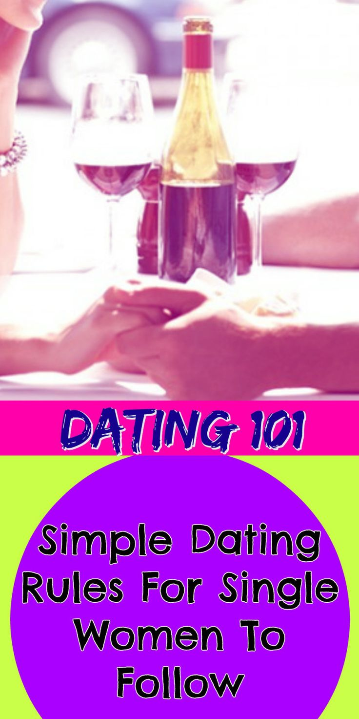 Dating rules for women