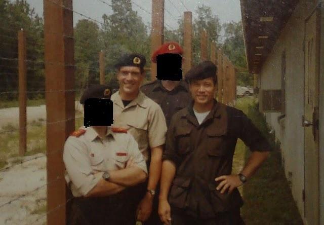 Capt.Kearns at Ft.Bragg 1969. MK ULTRA/MK NAOMI