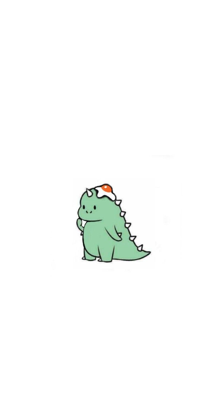 "Dino Н'»ð'†ð'ð'ð'"" Н''𝒔𝒊𝒏 Brightwin Dinosaur Wallpaper Cute Simple Wallpapers Wallpaper Iphone Cute"