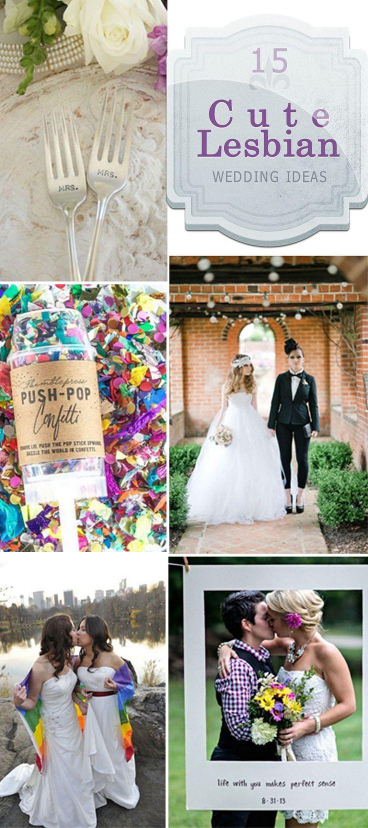 Cute Lesbian Wedding Ideas!