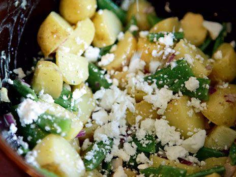 Ineses potatissallad med fetaost   Recept från Köket.se