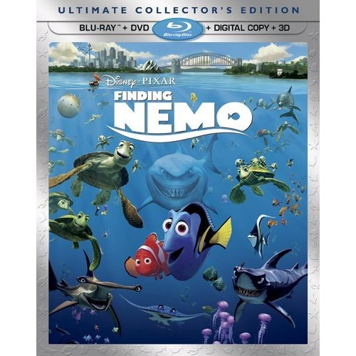Amazon.com: Finding Nemo (Five-Disc Ultimate Collector's Edition: Blu-ray 3D/Blu-ray/DVD + Digital Copy): Albert Brooks, Ellen DeGeneres, Alexander Gould, Willem Dafoe, Brad Garrett, Allison Janney, Austin Pendleton, Stephen Root, Vicki Lewis, Joe Ranft, Geoffrey Rush, Andrew Stanton, Elizabeth Perkins, Nicholas Bird, Bob Peterson, Barry Humphries, Eric Bana: Movies & TV