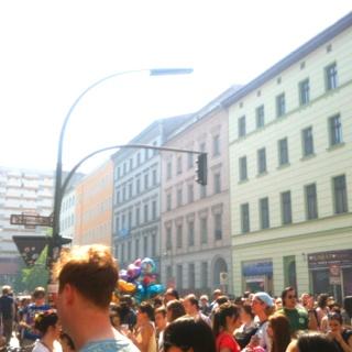 Myfest (1. Mai) Berlin Kreuzberg.