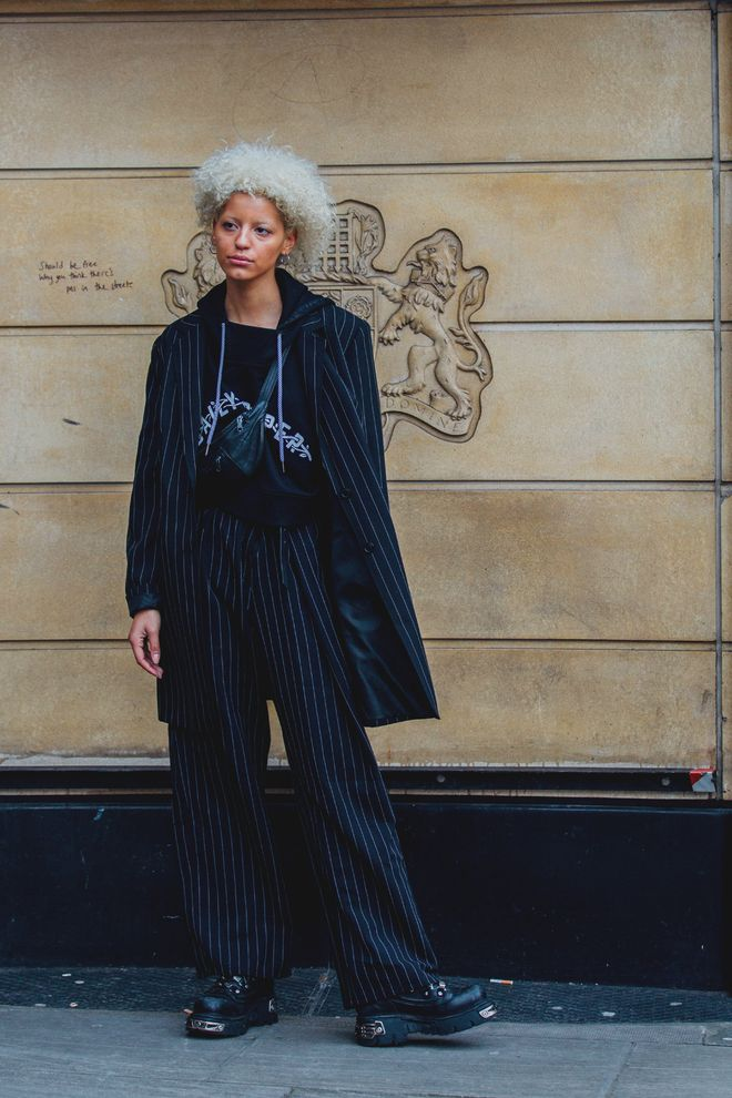mode street style les meilleurs looks femme de la Fashion Week homme automne-hiver 2018-2019 de Londres