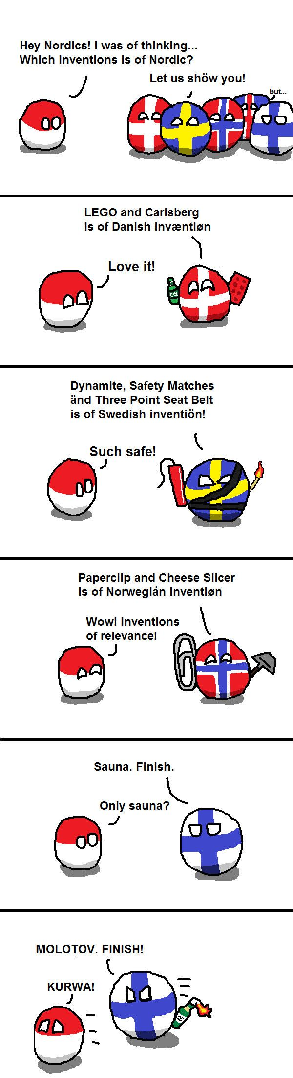 Nordic Inventions - 9GAG Poor Iceland is so irrelevant