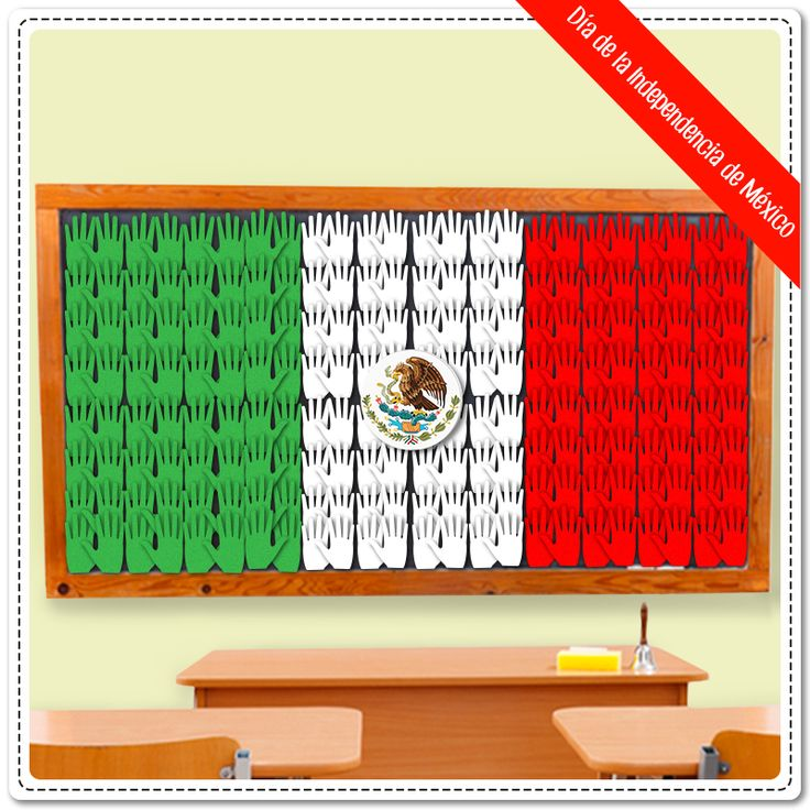 Hoy se cumplen 204 años del inicio de la Independencia de México.  ¡Decora el…