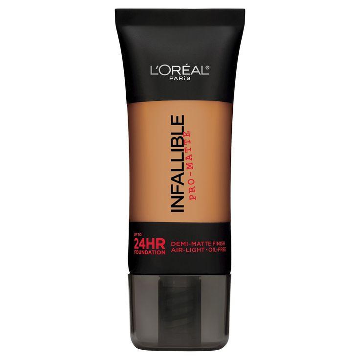 L'Oreal® Paris Infallible Matte Foundation Color - Classic Tan 109