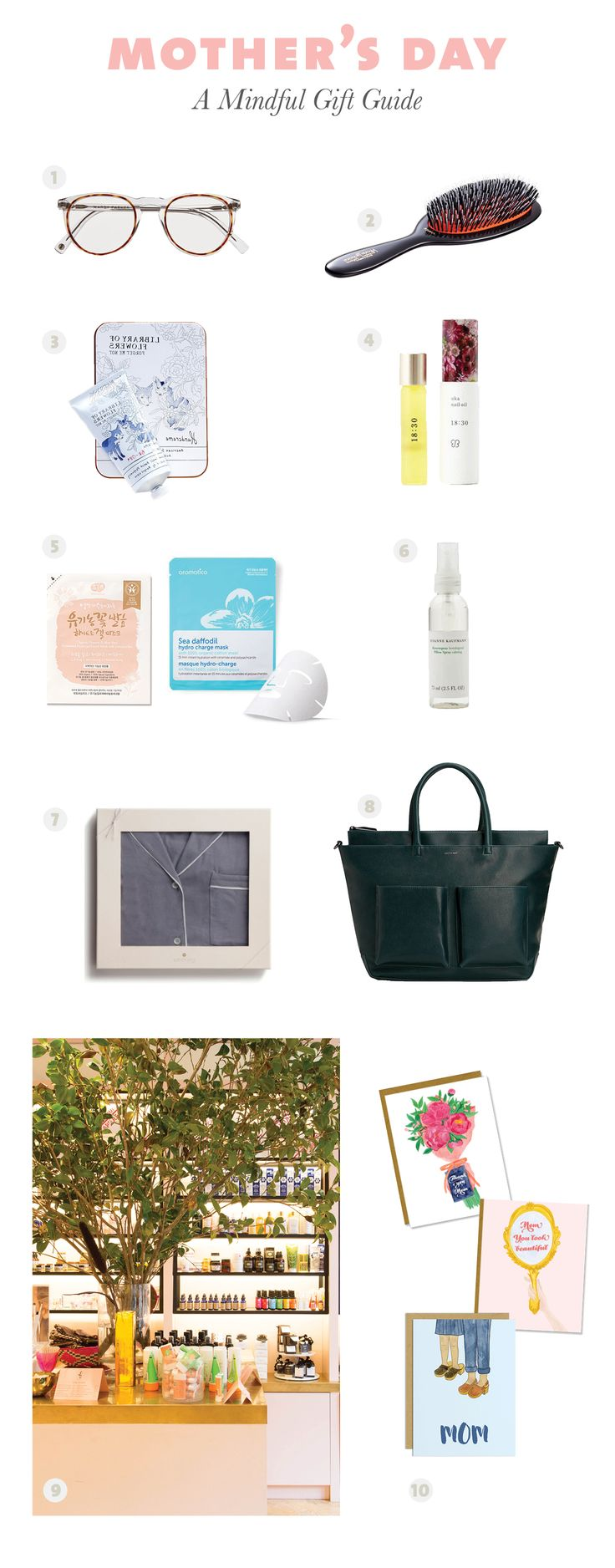 A mindful mothers day gift guide gift guide
