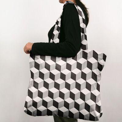Semi-panama Cube 7 - Coton - noir