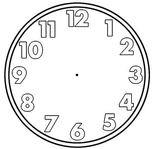 Best Clock Images On   Clock Faces Blank Clock And