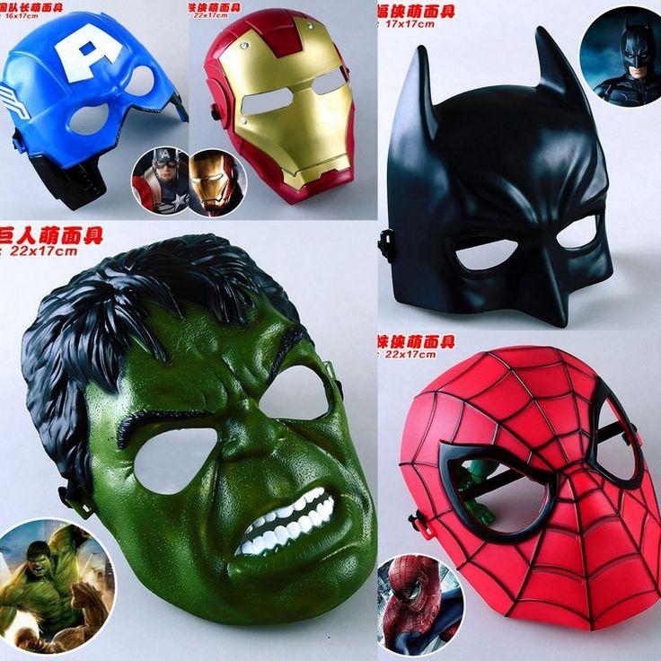 $12.85 (Buy here: https://alitems.com/g/1e8d114494ebda23ff8b16525dc3e8/?i=5&ulp=https%3A%2F%2Fwww.aliexpress.com%2Fitem%2F5Pcs-lot-Marvel-Movie-Mask-Avengers-Hulk-Captain-America-Batman-Spiderman-Ironman-Party-Mask-Boy-Gift%2F32397500116.html ) 5Pcs/lot Marvel Movie Masks Avengers Hulk Captain America Batman Spiderman Ironman Party Mask Boy Gift Action Figures Toys #E for just $12.85