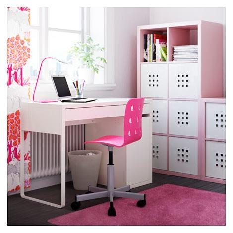 bureau ado 2 tiroirs 1 placard micke ikea env 75 - Lamp Bureau Ado