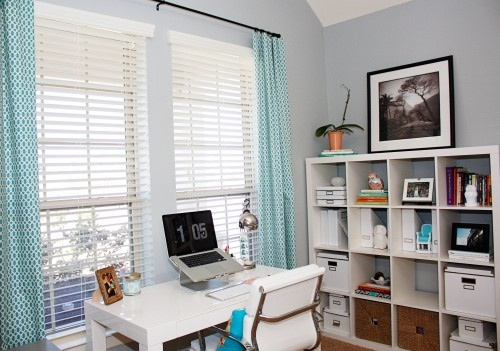 Office | http://www.houzz.com/photos/149622/Office-eclectic-home-office-houston