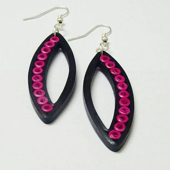Premium dangle and drop quilled earrings