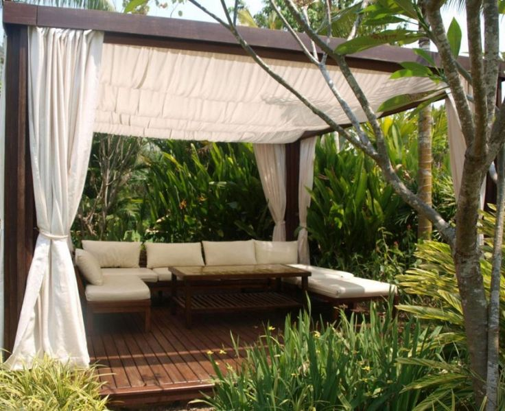 Fantastic Outdoor Living With Canopy Ceiling Design 1,000