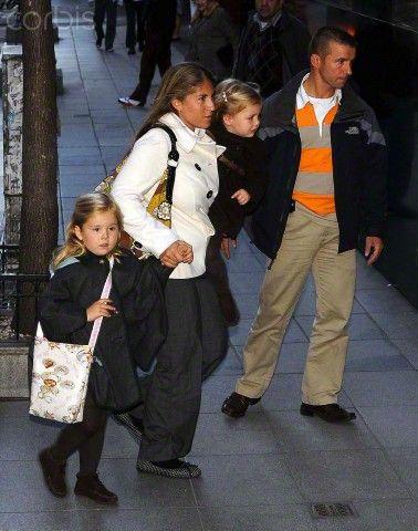 PRINCESS MAXIMA'S FATHER RETURNS HOME AFTER KNEE SURGERY