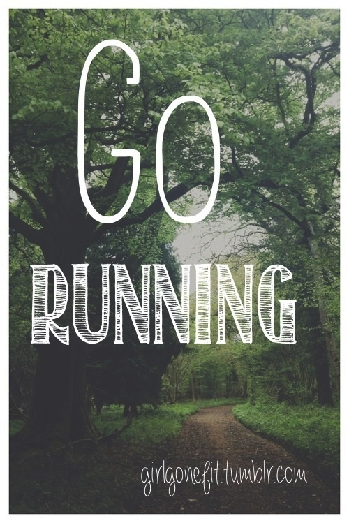 I wanted SO BADLY to run in the forest today. Instead, I ran on the treadmill and daydreamed for 4 miles.