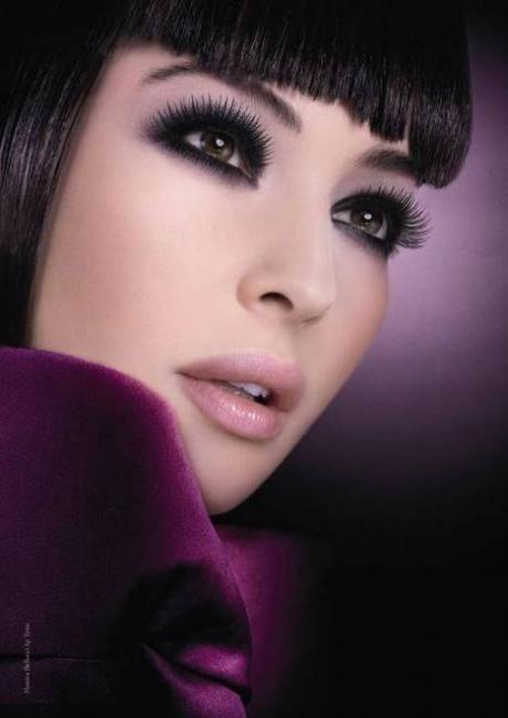 A look I'd love to recreate: Fal Lashes, Spectacular Eyelashes, Monica Bellucci, Dramatic Eye, Beautiful Hair Nails Makeup, Makeup Ideas, Models Makeup, Diorshow Exta, Mascaras Ads