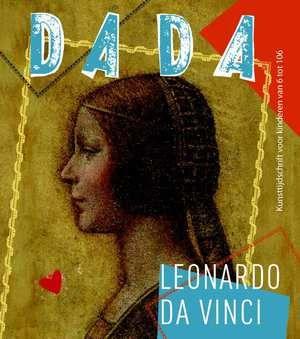 Kunsttijdschrift DADA voor kinderen van 6 tot 106  DADA Leonardo da Vinci--boek cover voorzijde