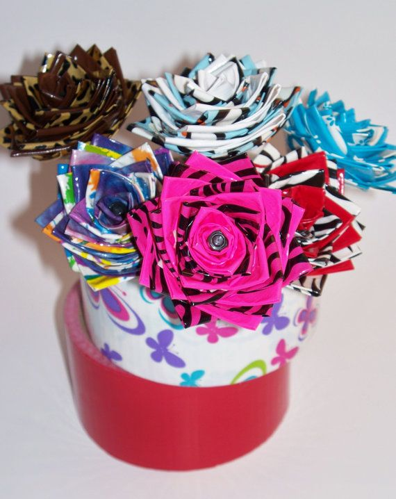 1000 images about duck tape roses on pinterest colors for Duck tape craft ideas