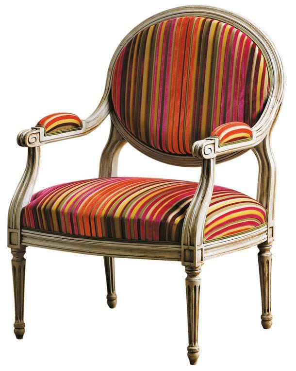 Полосатая мебель