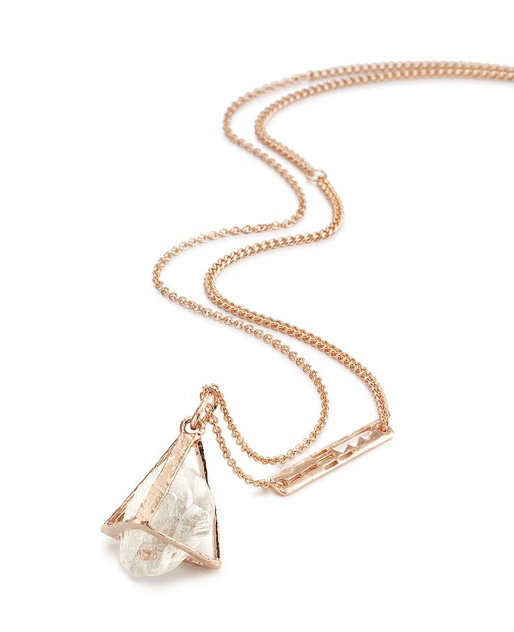 Up and away – caged necklace by Bjørg Jewellery